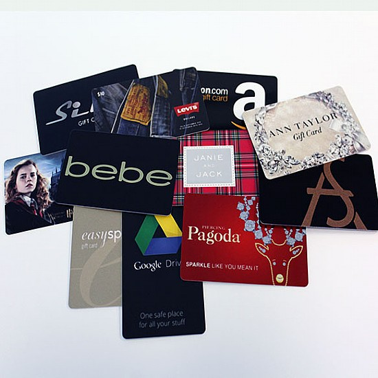High End Gift Cards