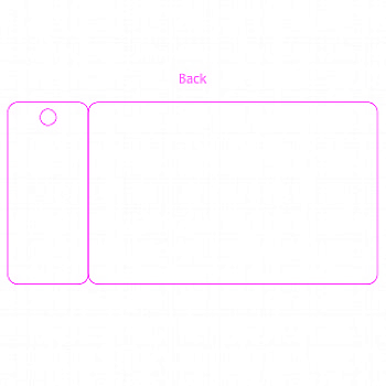CR80 1 TAG SMALL 2.125X4.3175 TEMPLATE