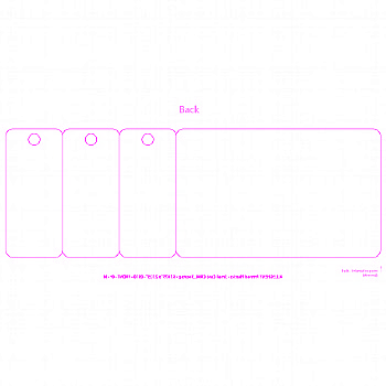 CR80 3 TAG SMALL 2.125X6.1875 TEMPLATE